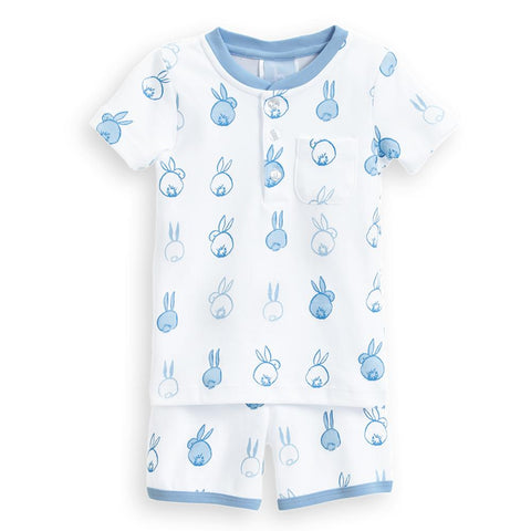 Blue Cottontail Short Jammies Bella Bliss