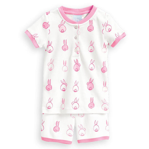 Pink Cottontail Short Jammies Bella Bliss
