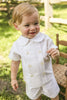 Candlelight Linen Ivory Short Set Toddler Bailey Boys