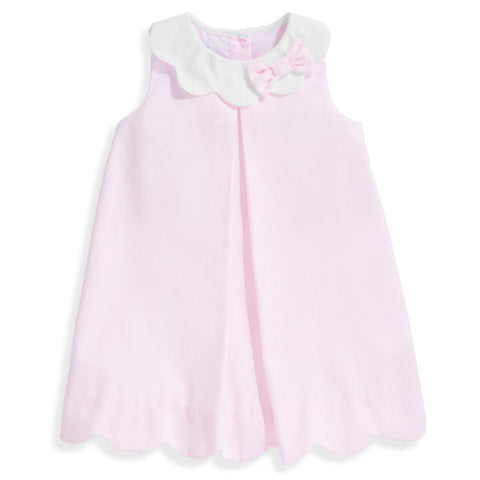 Bess Dress Pink Pique Bella Bliss