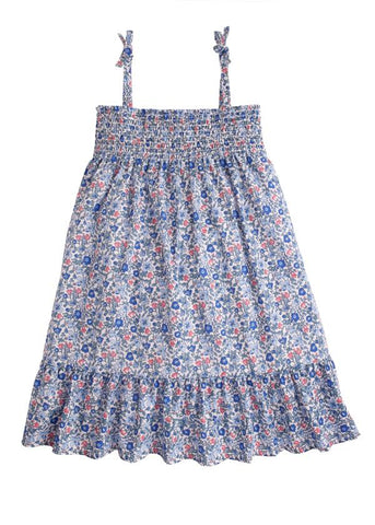 Blue Petite Garden Lucy Dress Bisby
