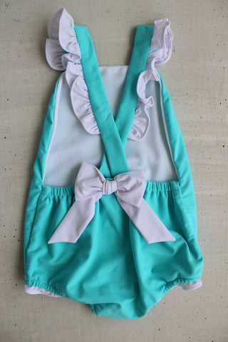 Bow Back Swimsuit Little English