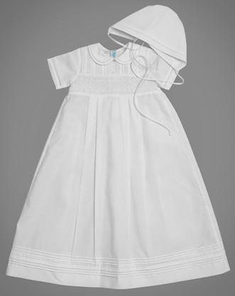 Boy's Smocked Christening Gown 5982 Feltman Brothers