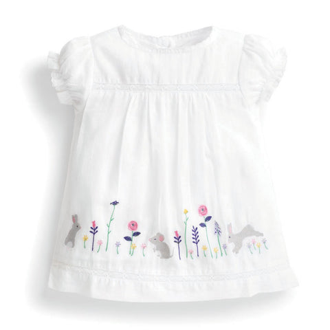 Bunny Embroidered Blouse Jojo Mama Bebe