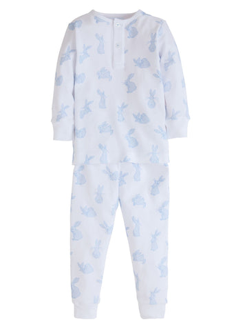 Blue Bunny Jammies Little English