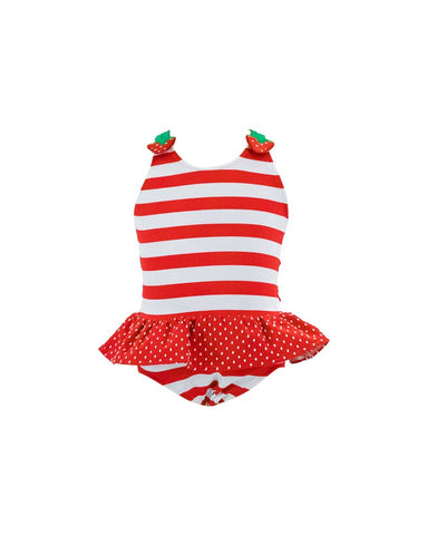 Strawberry Stripe Swimsuit Florence Eiseman