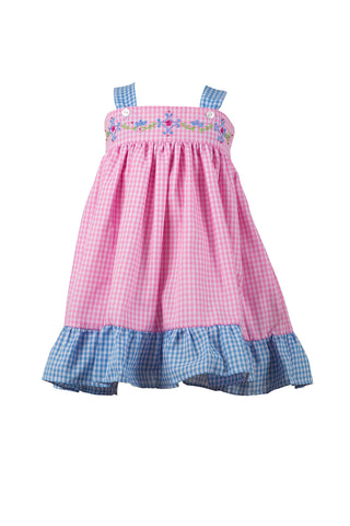 Celeste Gingham Sundress The Proper Peony