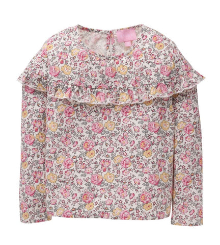 Emily Pink Rose Garden Top Bisby Kids
