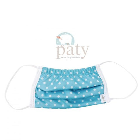 Dot Print Cloth Mask-Kids by Paty Inc.