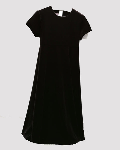 Black Velvet Swing Dress Vive La Fete