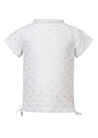 Gold Dot S/S Rash Top SnapperRock