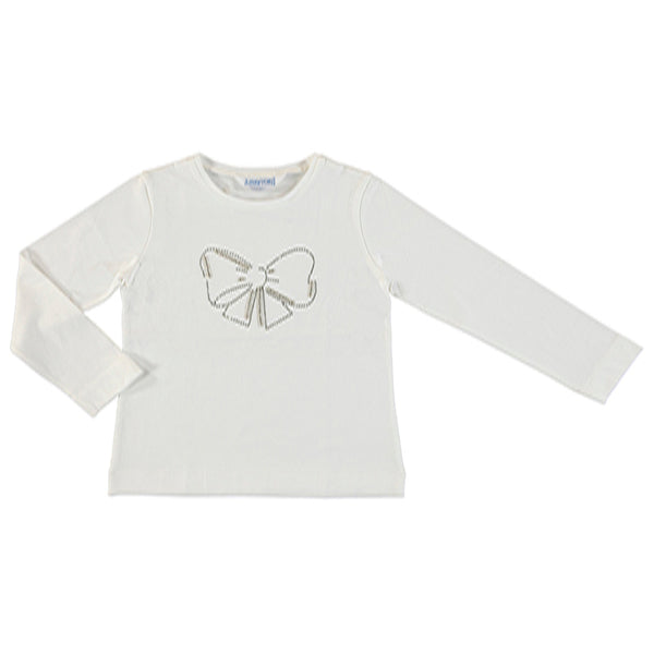 Bling Bow L/S Tee Mayoral