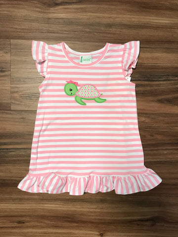 Turtle Stripe Dress Zuccini