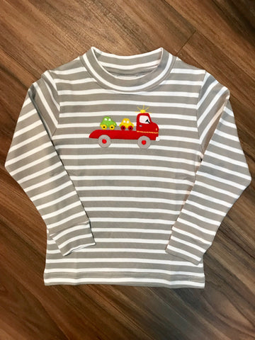 Car Hauler L/S Toddler Tee Squiggles