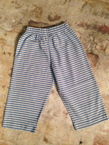 Stripe Jersey Knit Pants Luigi Kids