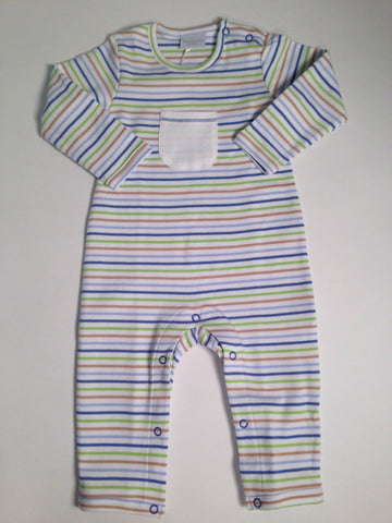 Romper With Pocket Squiggles