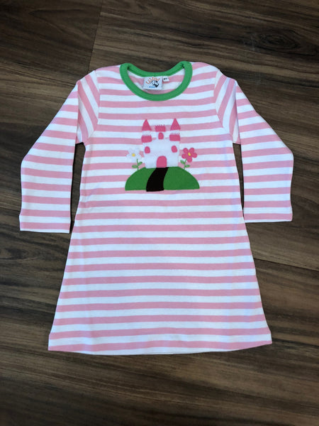 Castle L/S Child Dress by Luigi Kids