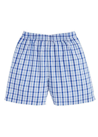 Seaside Plaid Basic Short Little English