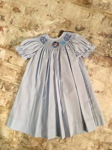 UNC smocked s/s bishop Vive La Fete