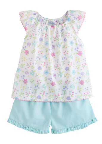 Linville Blooms Short Set Little English