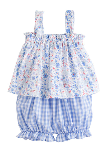 Rosemary Floral Kylee Bloomer Set Little English