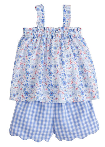 Rosemary Floral Kylee Short Set Little English