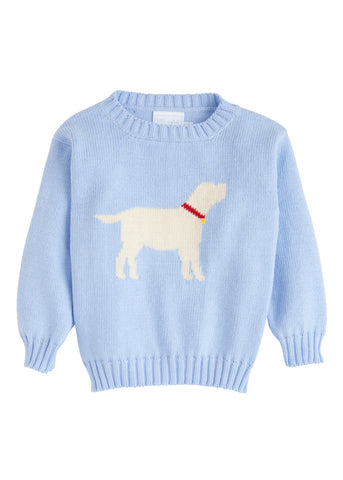 Lab Intarsia Boy Sweater Little English