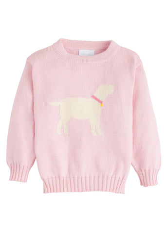 Lab Intarsia Girl Sweater Little English