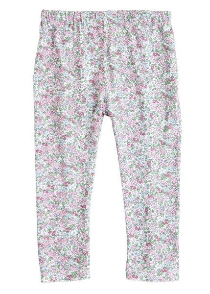 Kensington Floral Pink Leggings Bisby Kids