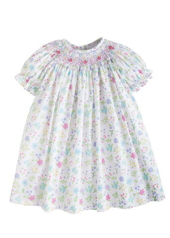 Linville Blooms Bishop Dress Little English
