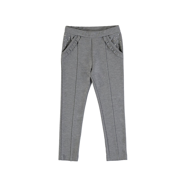 Gray Long Knit Pants Mayoral