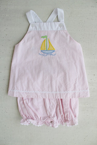Modified Cissy Sailboat  Bloomer Set Little English