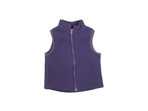 Fleece Vest Bailey Boys Month Sizes