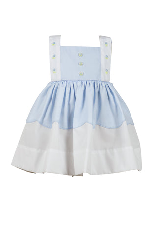 Parsons Pinafore Dress by The Proper Peony