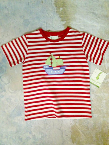 Pirate Ship S/S Tee Zuccini