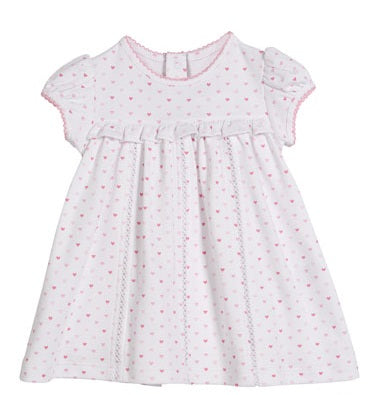 Princess Castle Heart Print Dress Kissy Kissy