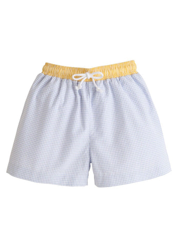 Yellow Swim Trunks Little English
