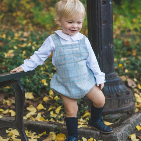 Robert Blue Plaid Set Dondolo