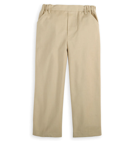 Faux Zip Twill Pants