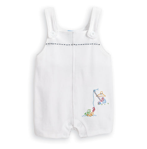Embroidered Fisherman Shortall Bella Bliss