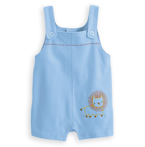 Embroidered Lion Shortall Bella Bliss