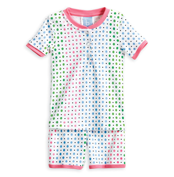 Multi Dot Short Jammies Bella Bliss