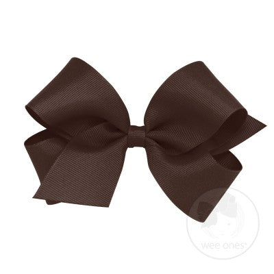 Medium King Hair Bow w/Pinch Clip Wee Ones