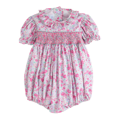 Venetian Jewel Smocked O'Day Bubble Little English