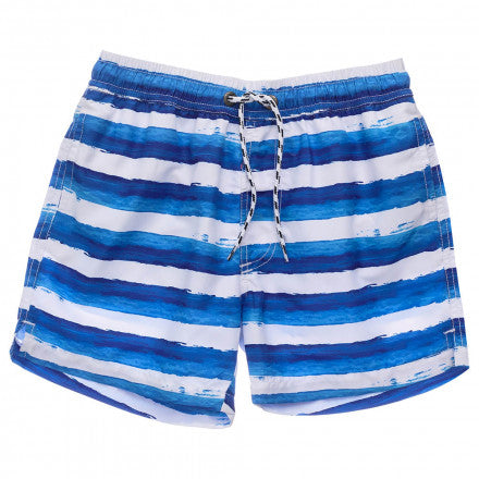 Sunset Stripe Volley Board Short SnapperRock