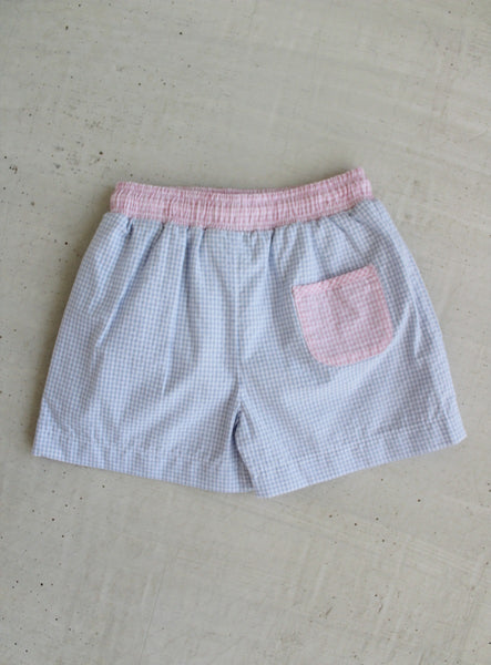 Seersucker Swimtrunks Little English