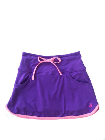 Tiffany Tennis Skort Purple w/Pink by SET