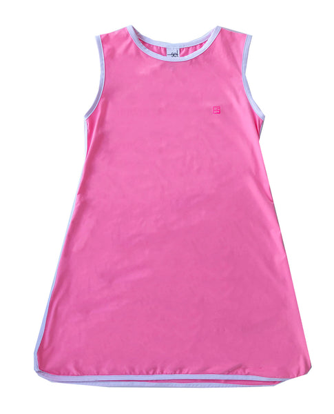 Tinsley Tennis Dress Hot Pink by SET Athleisure