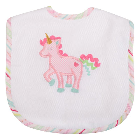 Unicorn Toddler Bib 3 Marthas