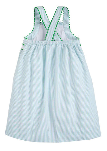 Whale Applique Anna Dress Little English